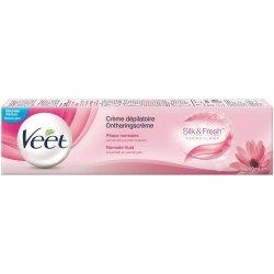 Veet Silk & Fresh Crème Dépilatoire Peaux Normales 200ml
