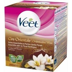 Veet Cire Orientale Huiles Essentielles et Parfum Vanille Florale 250ml