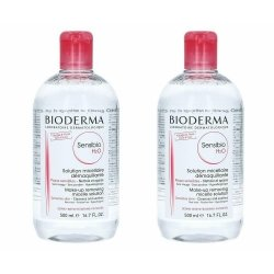 Bioderma Sensibio H2O Solution Micellaire Peaux Sensibles 2 x 500ml