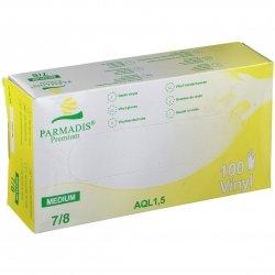 Parmadis Premium Gants Vinyl Medium 7/8 - 100 pièces