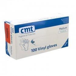 CMT Gants en Vinyl Medium - 100 pièces