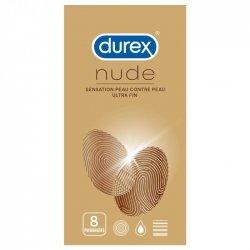 Durex Nude 8 préservatifs