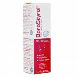 Borostyrol gel buccal tube 12ml