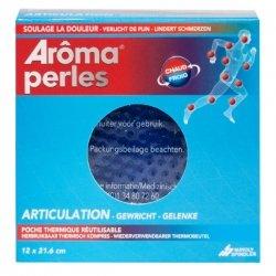 Aroma Perles Articulations Chaud/Froid Poche Thérmique Réutilisable 12x21,6cm