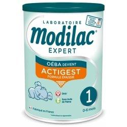 Modilac Expert Actigest Lait 1er âge 800g