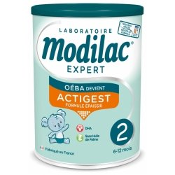 Modilac Expert Actigest Lait 2eme âge 800g