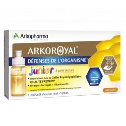 Arkoroyal Gelée Royale + Probiotiques Enfants 5x 7.5ml