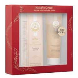 Roger & Gallet Coffret Tubéreuse Hédonie Extrait de Cologne 30ml + Cadeau Parfum de Douche Hydratant 50ml