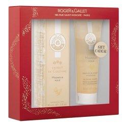 Roger & Gallet Coffret Magnolia Folie Extrait de Cologne 30ml + Cadeau Parfum de Douche Hydratant 50ml