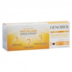 Oenobiol Solaire Intensif Préparateur Peau Normale 3 x 30 capsules