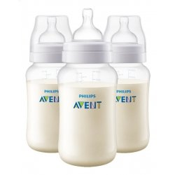 Avent Biberon Anti-Colic à Col Large 3x330ml