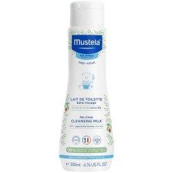 Mustela Bébé Lait de Toilette Sans Rinçage 200ml