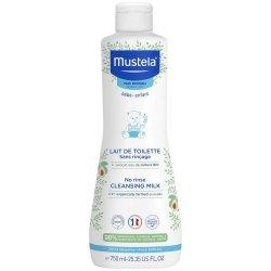 Mustela Bébé Lait de Toilette Sans Rinçage 750ml