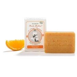 Berthe Guilhem Savon Surgras Bio Beurre de Karité Orange Douce 100g
