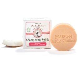 Berthe Guilhem Shampoing Solide Bio Cheveux Secs 100g