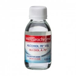 Mercurochrome Alcool 70° Lavande 100ml