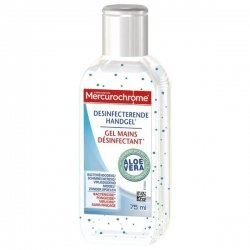 Mercurochrome Gel Mains Désinfectant Aloe Vera 75ml