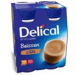 Delical Lactée Boisson HP HC Café 4x200ml