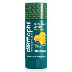 Dermophil Indien Stick Lèvres Protection Goût Miel 4g
