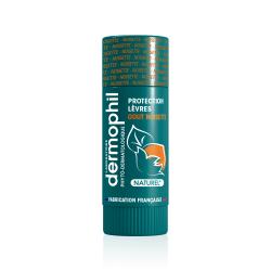 Dermophil Indien Stick Lèvres Protection Goût Noisette 4g