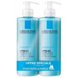 La Roche-Posay Lipikar Surgras Douche Crème Concentrée Anti-dessèchement 2 x 400ml