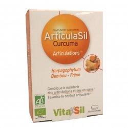 Vitasil Articulasil Curcuma Articulations Bio 60 comprimés