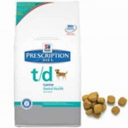 Prescription dietetique chiens td canine 10kg *4027m