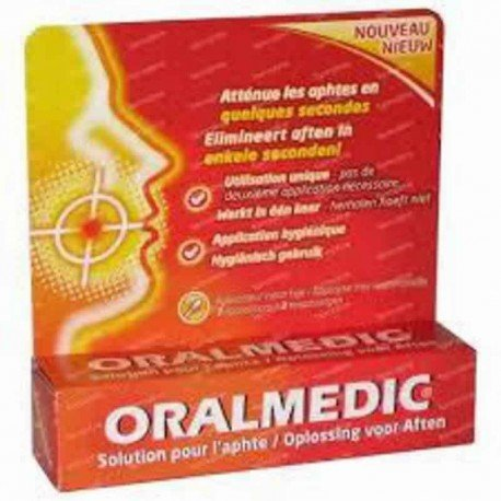 Oralmedic anti-aphtes applicateurs 3