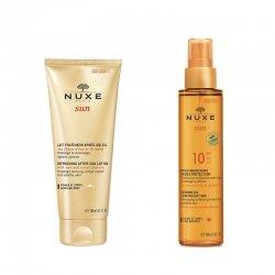 Nuxe Sun Pack Lait Après-Soleil 200ml + Huile bronzante SPF10 150ml