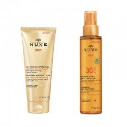 Nuxe Sun Pack Lait Après-Soleil 200ml + Huile bronzante SPF30 150ml