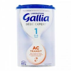 Gallia Expert Action Coliques Transit 1er Âge 800g