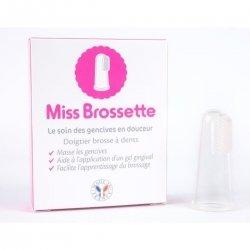 Machouyou Miss Brossette Doigtier Brosse à Dents 1 pièce