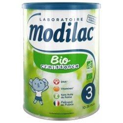 Modilac Expert Bio Lait de Croissance 800g
