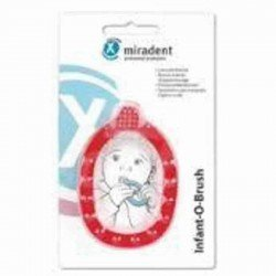 Miradent infant-o-brush brosse dents jaune