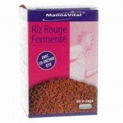 Mannavital riz rouge fermenté + coenzyme q10 v-gelules 60