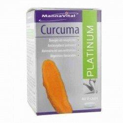 Mannavital curcuma platinum v-capsule 60