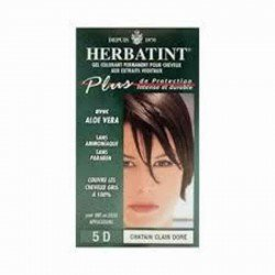 Herbatint: diverses couleurs chatain-dore-clair 120ml