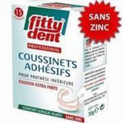 Fittydent coussinets superadhesives 15