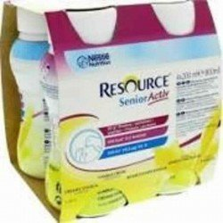 Resource senior active vanille onctueuse 4x200ml
