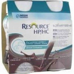 Resource hp hc chocolat bouteille 4x200ml