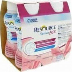 Resource senior active fraise-gourmand 4x200ml