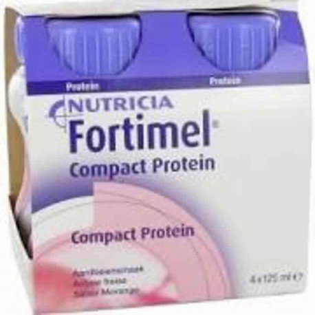 Nutricia Fortimel compact protein fraise 4 x 125ml