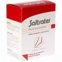Saltrates: sels de bain tonifiants aux extraits d'algues marines 10x20g