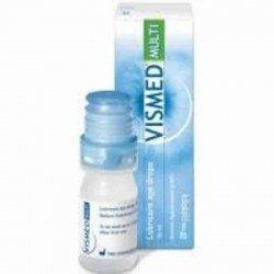 Vismed multi lubrification oculaire 0.18% 10ml