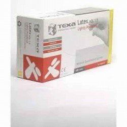 Texa gants latex blanc lp s 100