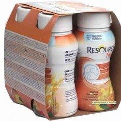 Resource fruit orange 4x200ml 104017