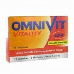 Omnivit vitality 28 comprimés