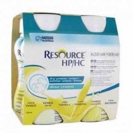 Resource hp hc vanille bouteille 4x200ml