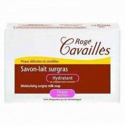 Rogé Cavaillès Savon-lait surgras hydratant peau sèche 100g