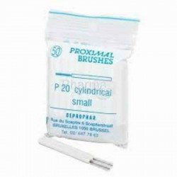Proximal brush cylindrique à monter sur manche p20 cyl s l 50
